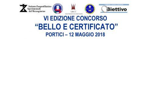 Concorso Bello e Certificato VI edizione – Fattorie Didattiche Aperte 2018 – IZSM di Portici