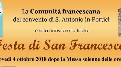 Portici: Festa di San Francesco