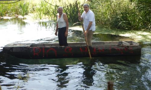 Tuffo nel Rio Santa Marina, successo per l'iniziativa