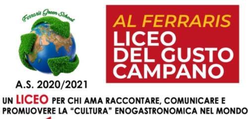 I.S.I.S. Galileo Ferraris di Caserta: la Scuola del Gusto
