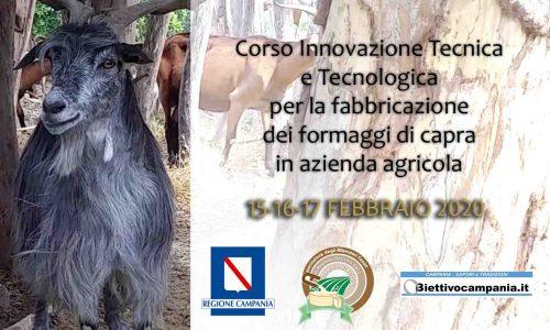 """Scarica qui il modulo di iscrizione """"Innovazione tecnica e tecnologica per la fabbricazione dei formaggi di capra in azienda agricola"""""""